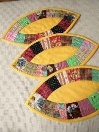 初めての刺繍 - eri-quilt日記2