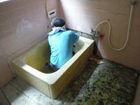 水回りリフォーム~浴槽解体をして。 - 市原市リフォーム店の社長日記・・・日日是好日