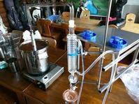 桜の花でアロマウォーターを作ってみました理科実験蒸留 - スクール809 熊本県荒尾市の個別指導の学習塾です