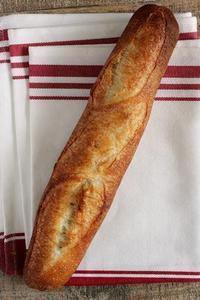 バゲット焼いて、ハムチー大葉バゲットサンド - Takacoco Kitchen