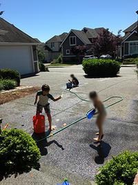 夏休み直前の土曜日はSっち&スース兄妹がお泊まりに来た〜 - くもりのち雨、ときど~き晴れ Seattle Life 3