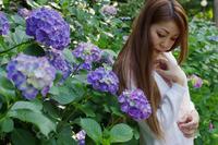 紫陽花と一緒に - この青い空を君にあげる