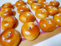 あんパンとホットドックバンズ - パンとお菓子と美味しい時間 (パン教室ココット)
