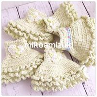 久しぶりにお人形の編みワンピ - 編み好き@amiami通信