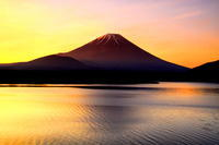 29年6月の富士(25)本栖湖の赤富士 - 富士への散歩道 ~撮影記~