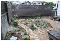 南区にお住いのIさま宅ガーデンです^^ - natu     * 素敵なナチュラルガーデンから~*     福岡で庭造り、外構工事(エクステリア)をしてます