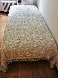 コットン手編みベッドカバー59   sold out! - スペイン・バルセロナ・アンティーク gyu's shop