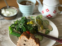 ゆっくり朝食 - heibonnahibi
