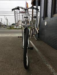前輪うねうね〜 - みやたサイクル自転車屋日記