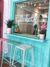 アラブ街にオープンしたポップなアイス屋さんへ@Lickety - 日日是好日 in Singapore
