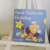 """あじさいお勧めの絵本 """"Spot Goes on Holiday"""" - おやこ英語絵本の会 「あじさい」"""