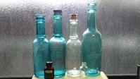 古ーいソース瓶たち - ヤングの古物趣味