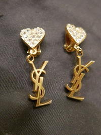 YSL earrings - carboots