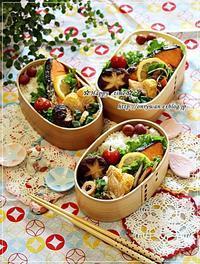 焼き鮭弁当とミニトマト成長日記③とおまけ♪ - ☆Happy time☆