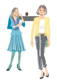 知的でかんじのよい女性になりたい♪プレジデントウーマン - まゆみん MAYUMIN Illustration Arts