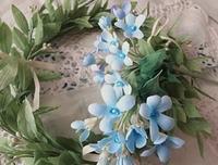 枝ものブルースター - handmade flower maya