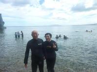 続・楽しみに年齢は関係なし~恩納村真栄田岬体験ダイビング~ - 大度海岸(ジョン万ビーチ・大度浜海岸)と糸満でのシュノーケリング・ダイビングなら「海の遊び処 なかゆくい」