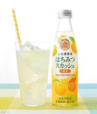 健康的で美味しい炭酸水「はちみつスカッシュ(ゆず)」 - ありがとう