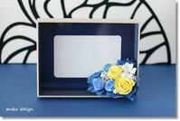 Wedding gift 縦横自在フォトフレーム* - Flower letters