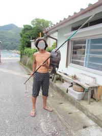イシダイ、、一突き - 漁・猟師(直売有)の主人と島で田舎暮らし~