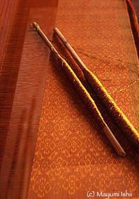カンボジアの絹織物をなりわいとした森本喜久男さん - 石井真弓のブログ◎Apertures