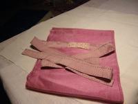 桑の実染めのふんどし・手縫い・即売れました。 - 自然からの贈り物/草木染め