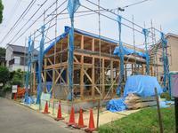 久地の家が上棟しました - HAN環境・建築設計事務所
