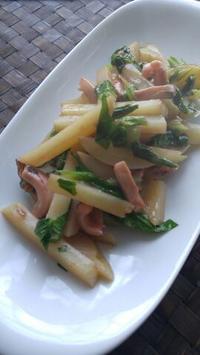 江戸川区のHPに掲載中 塩辛セロリポテト - 料理研究家ブログ行長万里  日本全国 美味しい話