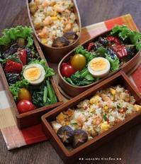 夏だけどインフルが流行 (╯•ω•╰) ✿ bento&晩ご飯♪ - **  mana's Kitchen **