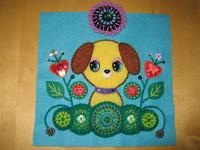 目玉ちゃんシリーズ - イヌと手芸が好き。