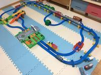 踏切盛りだくさんのプラレール - 子どもと暮らしと鉄道と