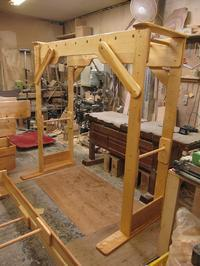 うんていNタイプW1800×H1800×D870可動式登り棒2本 - MIKI Kota STYLE by Art Furniture Gallery