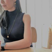 休日にウッドビーズ - Fmizushina Accessories 日々のアクセサリーダイアリー