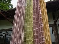 草木染めスカーフ四本 - 自然からの贈り物/草木染め