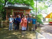 和歌山市内の寺町と和歌山城 - 東 道のきのくに花街道