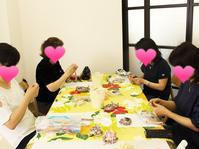 6月ワークショップレポ♪by*S* - リボン日和~手芸リボン専門店の12ヶ月~