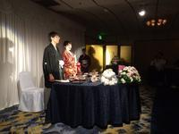7月9日(日)甥っ子の結婚式 - 高桑敏直ファンページ