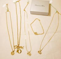 DIOR necklace, blacelet - carboots