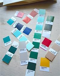 このなかの何色かが、「あるもの」になります♪ - こんなことが、あったよ。