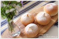 【レッスンレポ】人生初めての手ごねパン! 生徒さまのパンをご紹介♪ - 大阪 堺東 パン教室 『ワンランク上の本格パン作り』 - ル・タン・ピュール -