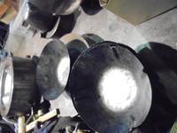 神戸のレストランに - 金属造形工房のお仕事