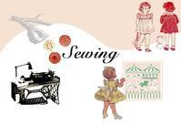 Sewing corner - NUTTY Little Room&Deco.