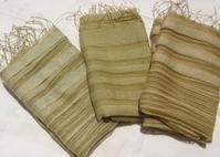 夏の深緑・草木染 - 自然からの贈り物/草木染め
