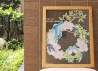 花水木と鳥さんのウェルカムボード - think