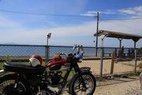 下灘、夕焼け小焼けラインからメロディーラインを抜け佐田岬へ - TRIUMPH&OUTDOOR