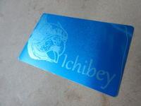 カラーアルマイトへのレーザー彫刻 - ichibey日々の記録