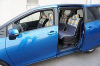 【トヨタシエンタ】にシートカバーを装着しました - かわいいカー雑貨のお店ココトリコ★さくらのブログ