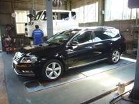 VW パサートヴァリアント(3C)警告灯点灯修理 - 掛川・中央自動車