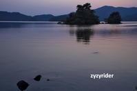 檜原湖の夕景(その3) - ジージーライダーの自然彩彩