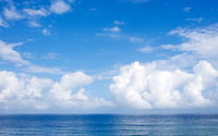 夏の雲f - 雲空海